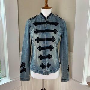 Jill Stuart Military Denim Jacket